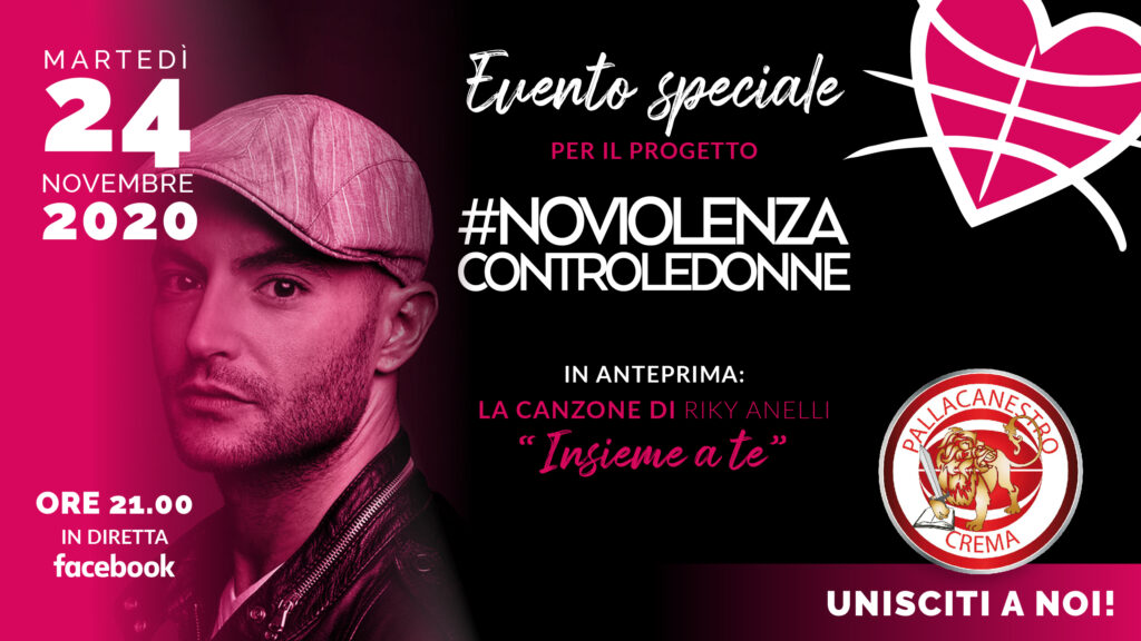 Evento #NOVIOLENZA – 24.11.2020